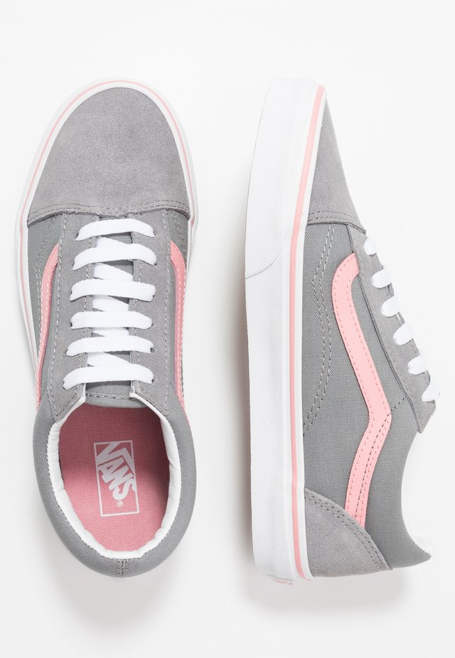 OLD SKOOL - Sneakers laag - frost gray/pink icing