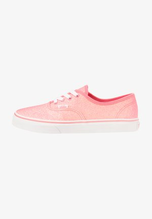 AUTHENTIC - Sneakers laag - neon glitter pink/true white