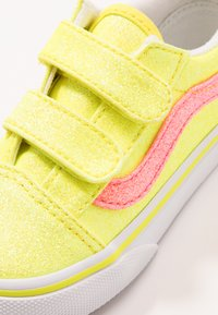 Vans - OLD SKOOL - Sneakers basse - neon glitter yellow/true white - 2