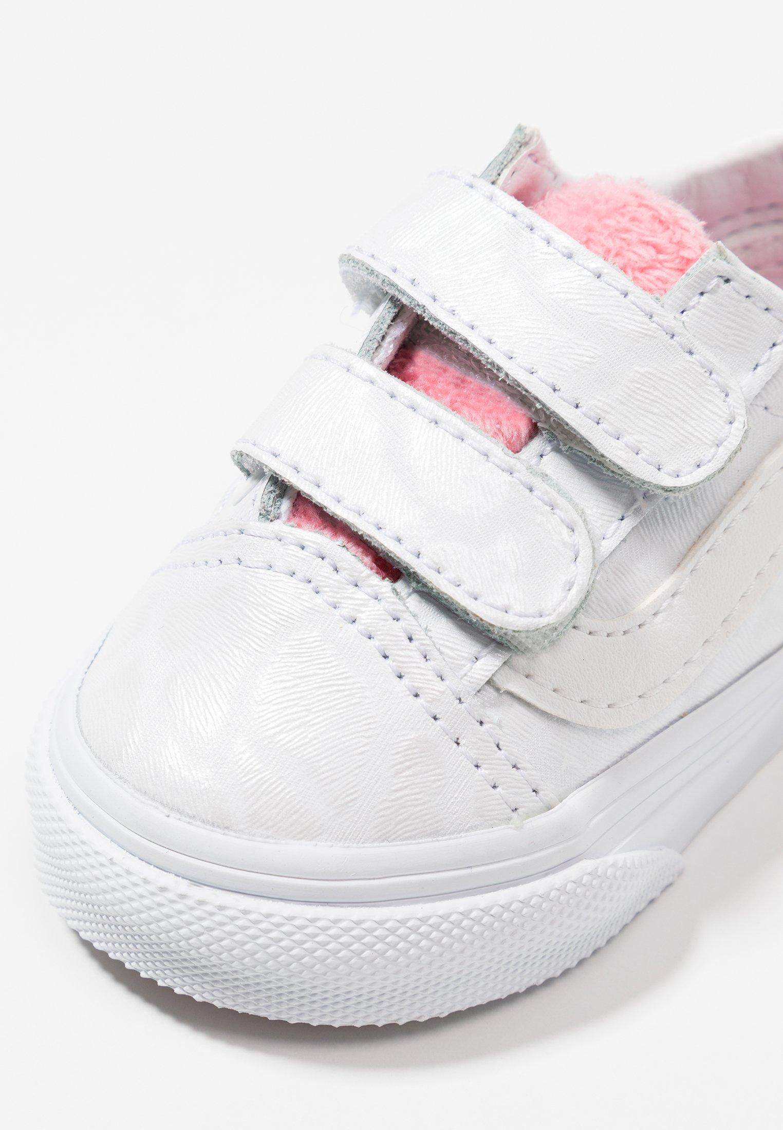 OLD SKOOL Baskets basses true whitestrawberry pink