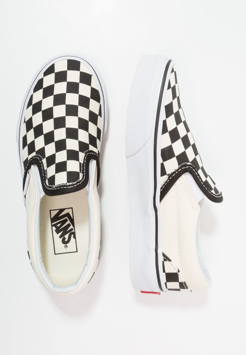 Vans - CLASSIC - Loafers - black/white