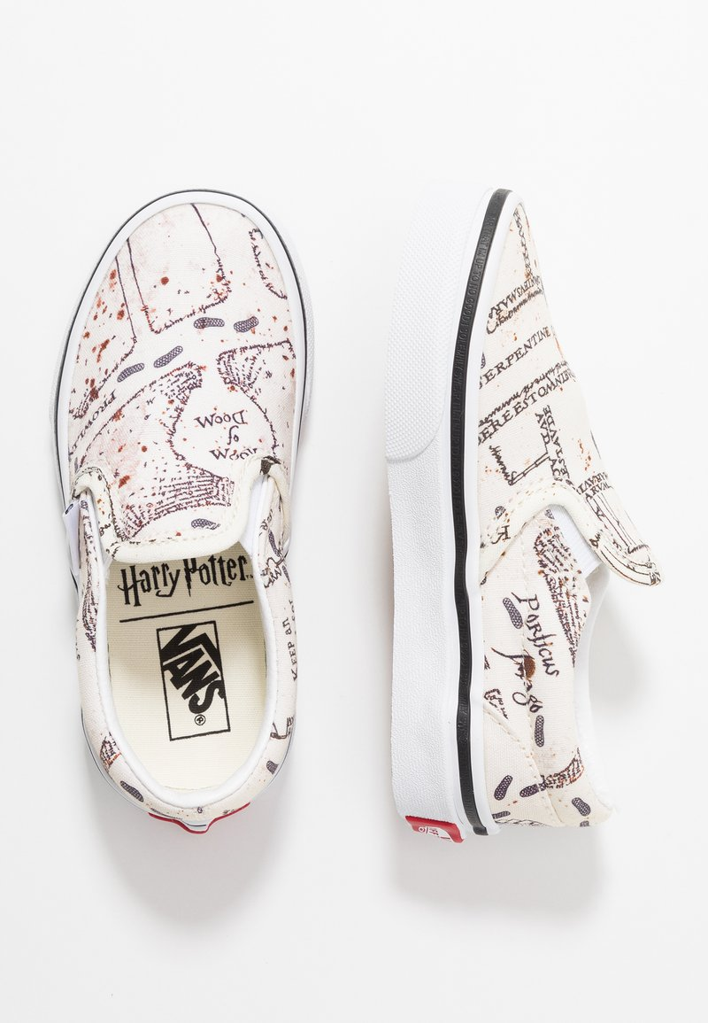 Vans - CLASSIC SLIP ON HARRY POTTER - Slip-ons - classic white
