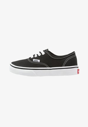 AUTHENTIC - Matalavartiset tennarit - black/true white