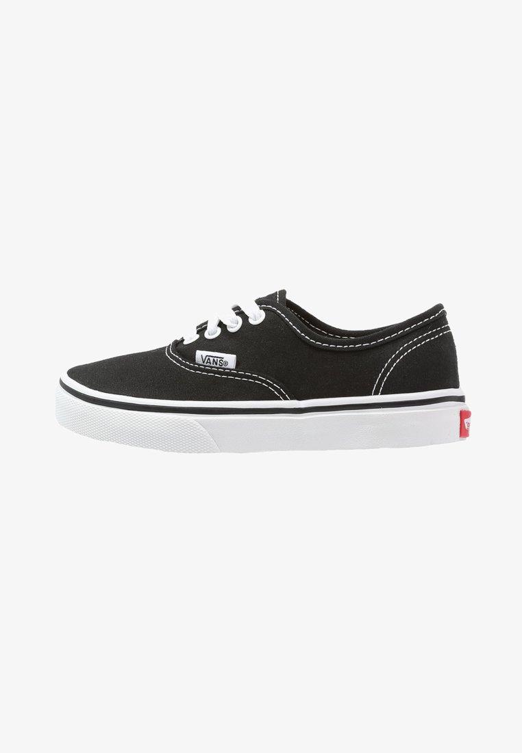 Vans - AUTHENTIC - Sneakersy niskie - black/true white