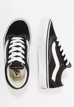 OLD SKOOL - Baskets basses - black/true white