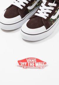 Vans - SK8 REISSUE - Zapatillas altas - brown/true white - 6
