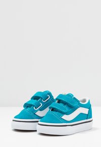 Vans - OLD SKOOL - Sneakers basse - caribbean sea/true white - 3