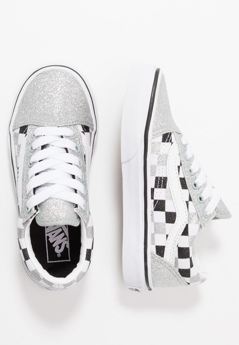 Vans - OLD SKOOL - Zapatillas -  silver/true white