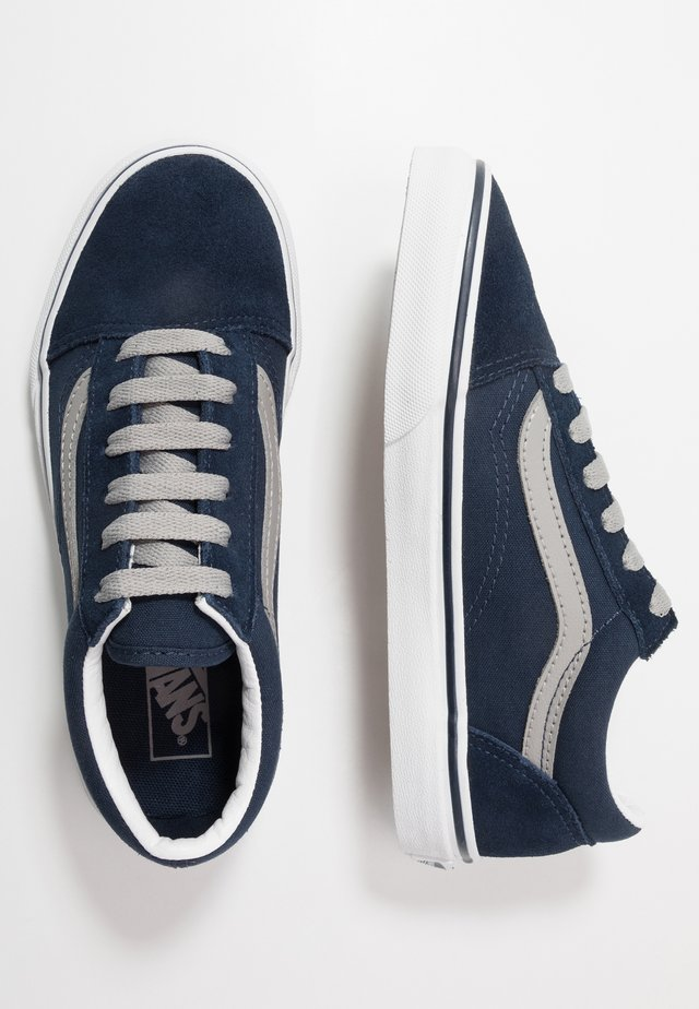 OLD SKOOL - Sneakers laag - dress blues/drizzle