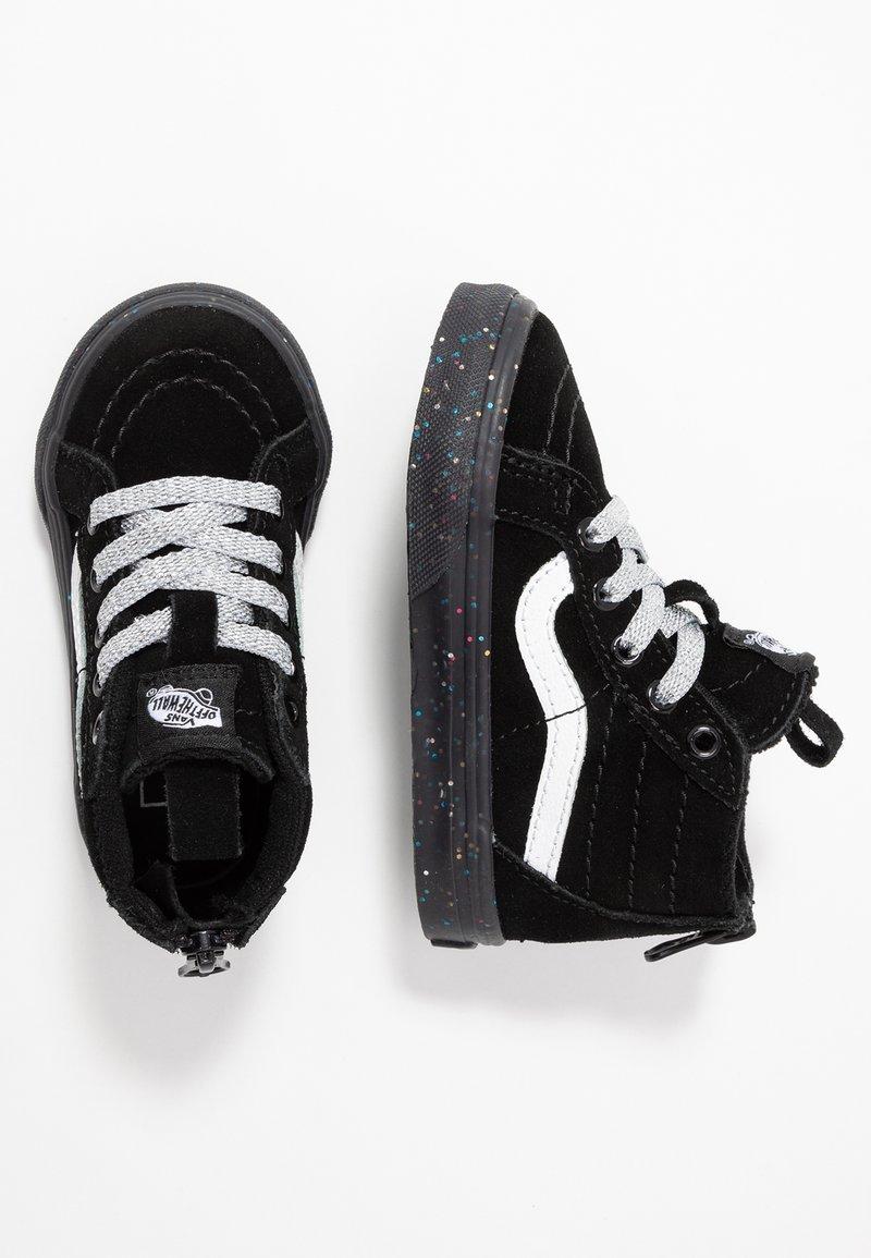 Vans - TD SK8 ZIP - Vysoké tenisky - glitter/black