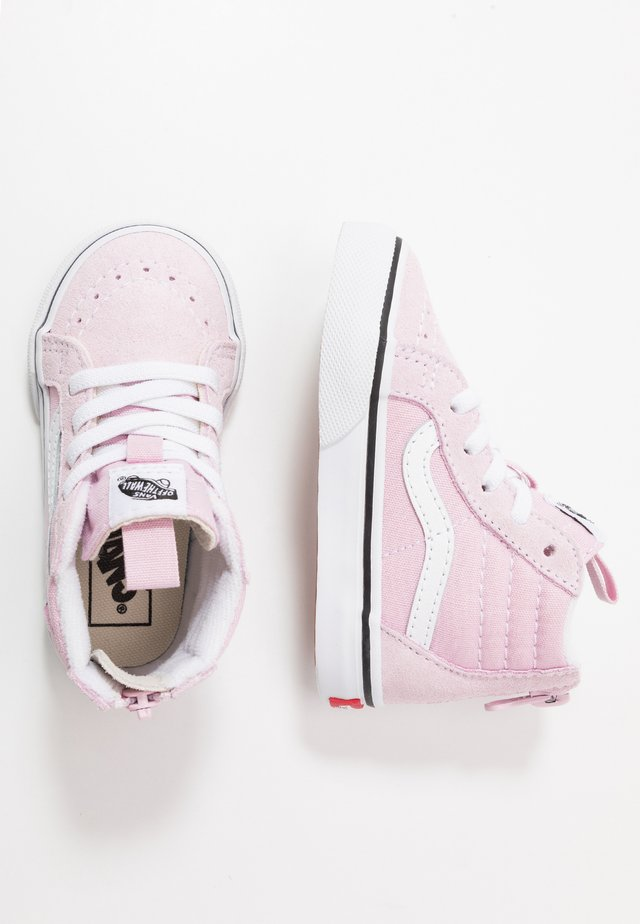 SK8 ZIP - Sneakers hoog - lilac snow/true white