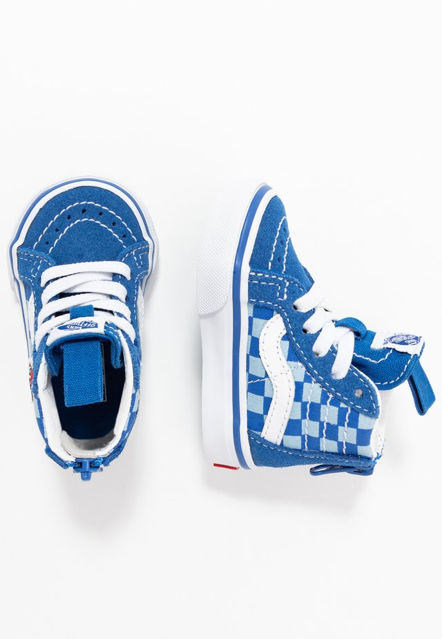 SK8 ZIP - Höga sneakers - blue/true white