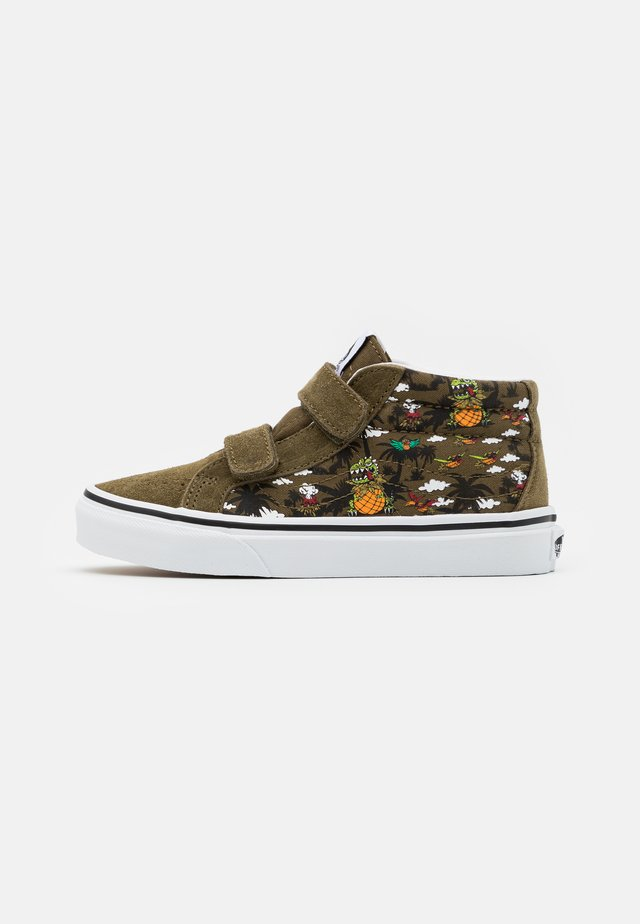 UY SK8-MID REISSUE - Sneakers high - military olive/true white