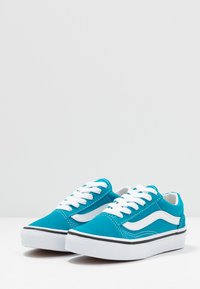 Vans - OLD SKOOL - Sneaker low - caribbean sea/true white - 3