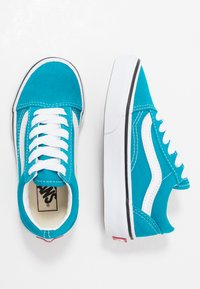Vans - OLD SKOOL - Sneaker low - caribbean sea/true white - 0