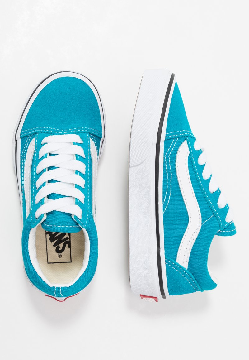 Vans - OLD SKOOL - Sneaker low - caribbean sea/true white