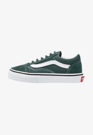 OLD SKOOL - Sneakers laag - trekking green/true white