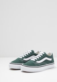 Vans - OLD SKOOL - Sneakers basse - trekking green/true white - 3