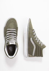 Vans - SK8 - Zapatillas altas - grape leaf/drizzle - 0