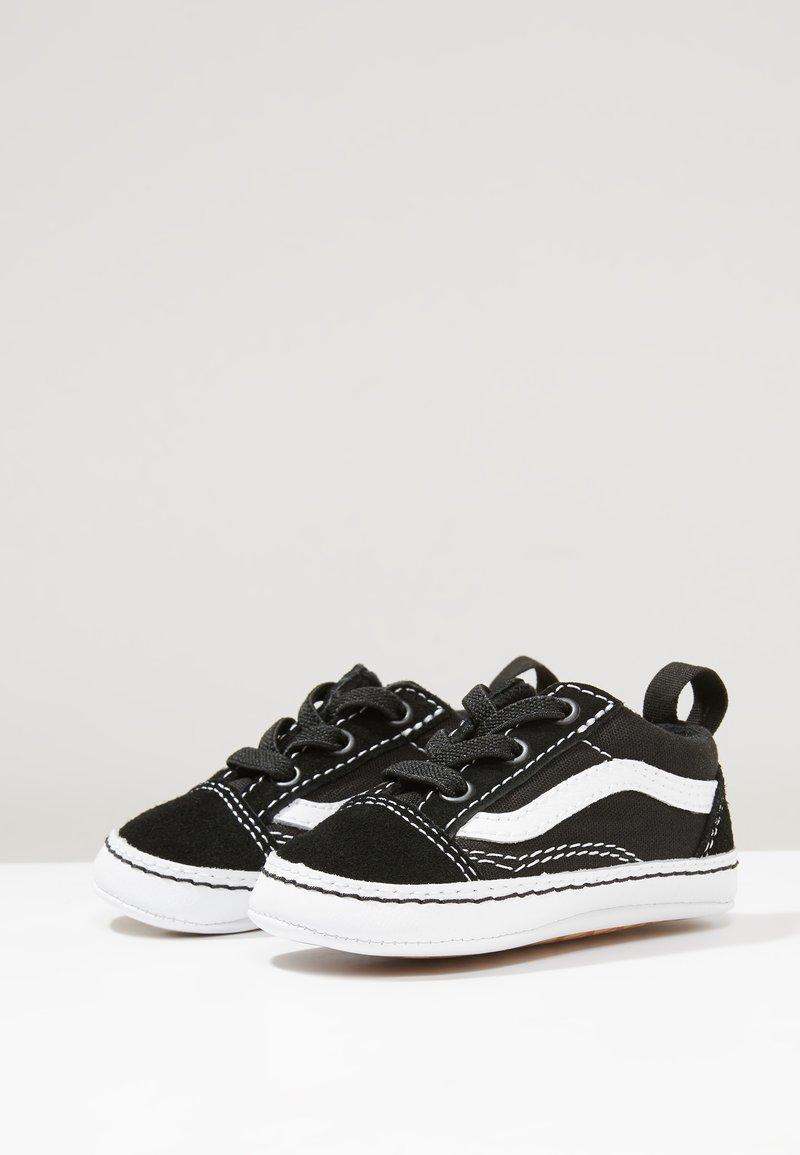 Vans - IN OLD SKOOL CRIB - Chaussons pour bébé - black/true white