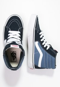 Vans - SK8-HI - Sneakers alte - navy - 1