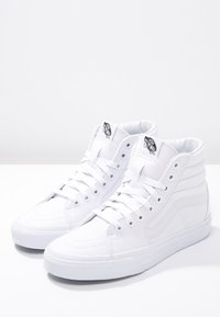 Vans - SK8-HI - Höga sneakers - true white - 2