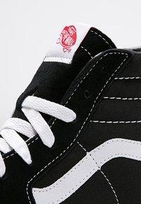 Vans - SK8-HI - Sneakersy wysokie - black - 12