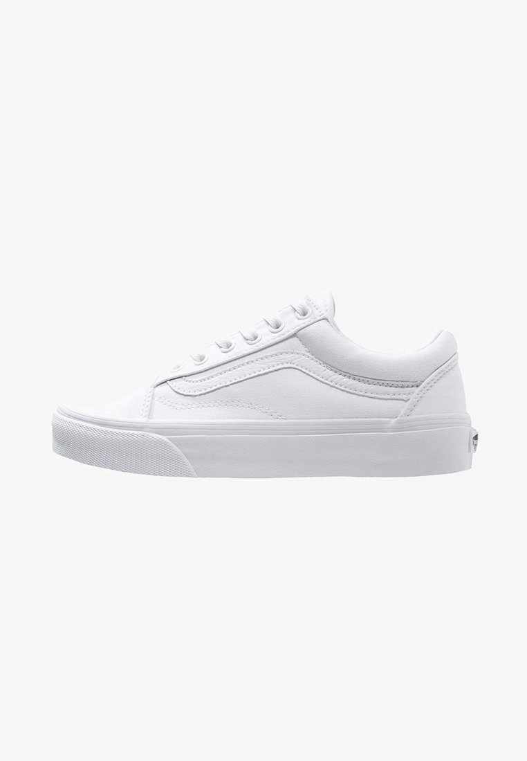 Vans - OLD SKOOL - Skateschoenen - true white