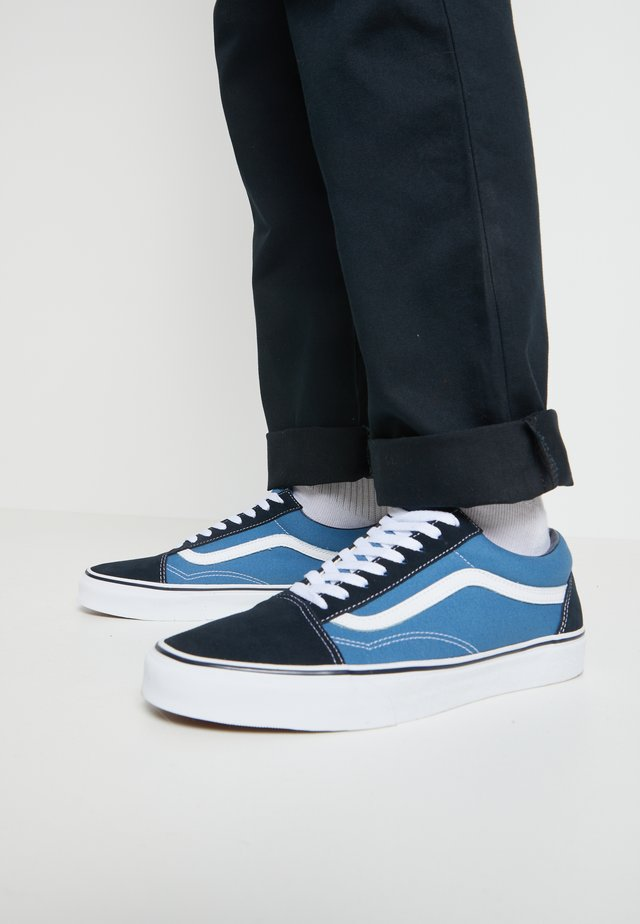 OLD SKOOL - Zapatillas skate - navy