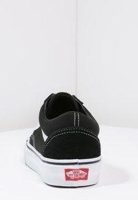 Vans - OLD SKOOL - Skateschoenen - black - 7