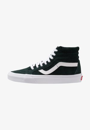 SK8-HI REISSUE - Korkeavartiset tennarit - darkest spruce/true white