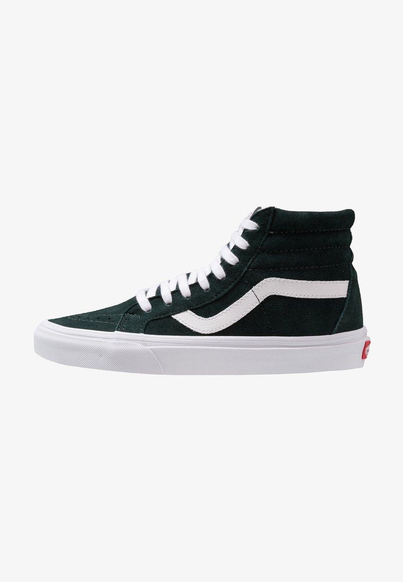 Vans - SK8-HI REISSUE - Sneaker high - darkest spruce/true white