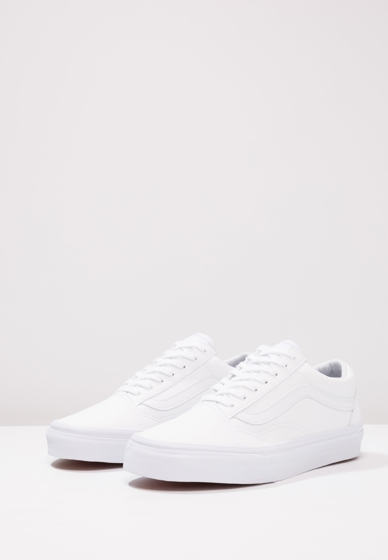 Vans Old Tumble White Classic Basses SkoolBaskets Ua True 0wPO8nk