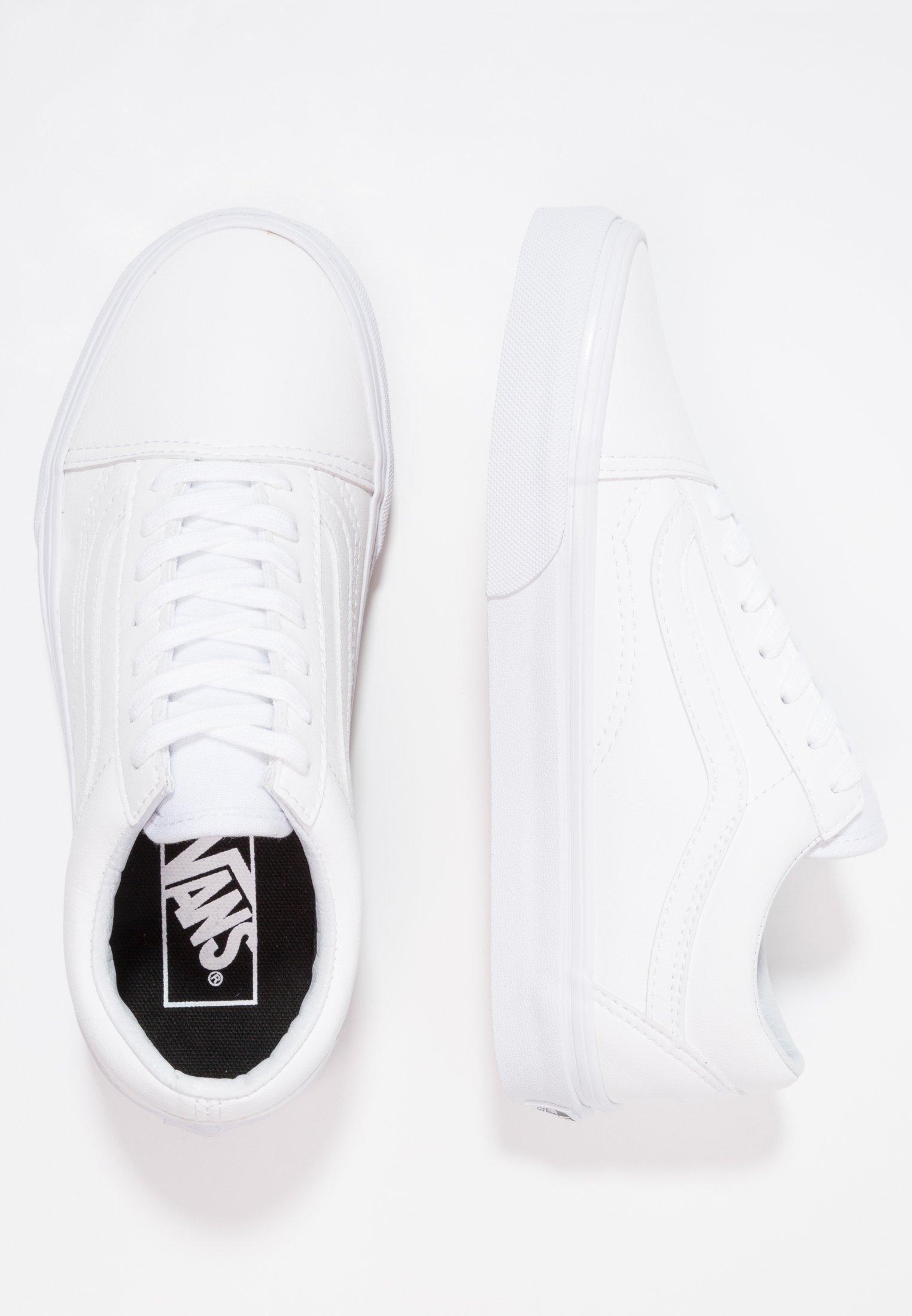 UA OLD SKOOL Sneaker low classic tumble true white