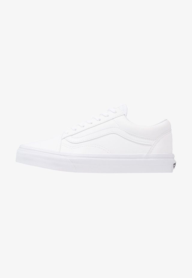 UA OLD SKOOL - Sneakers laag - classic tumble true white