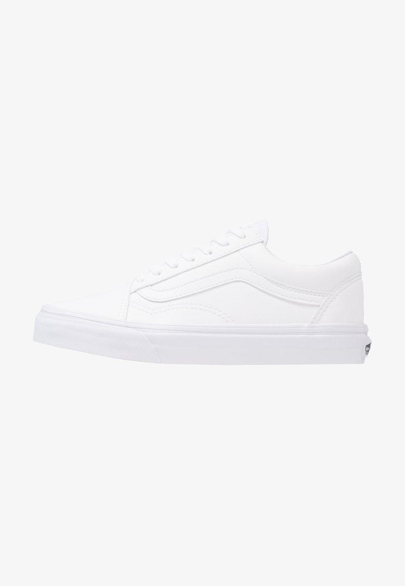 Vans - UA OLD SKOOL - Matalavartiset tennarit - classic tumble true white