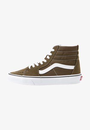 UA SK8-HI  - Korkeavartiset tennarit - beech/true white