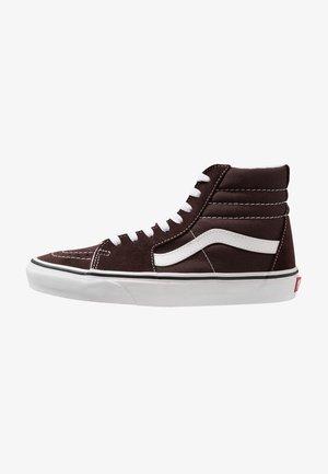 UA SK8-HI  - Sneakers alte - chocolate torte/true white