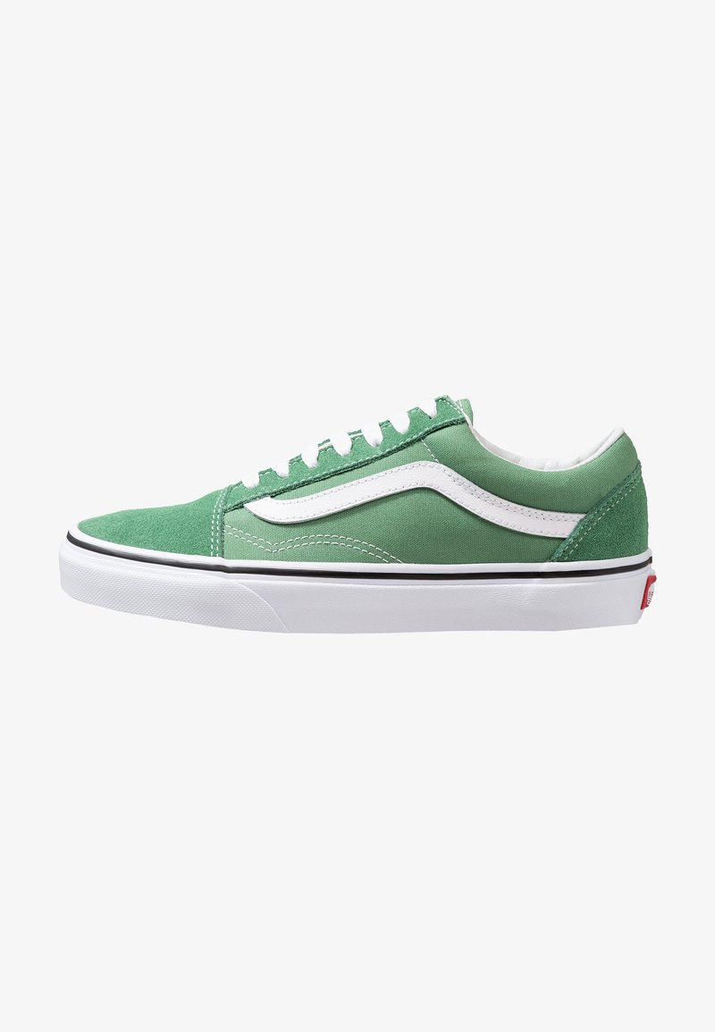 Vans - OLD SKOOL - Sneakers - deep grass green/true white