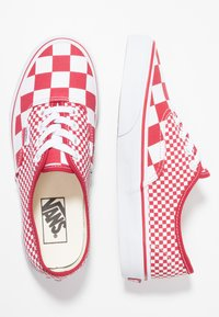 Vans - AUTHENTIC  - Sneakersy niskie - chili pepper/true white - 1