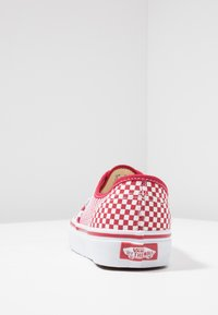 Vans - AUTHENTIC  - Sneakersy niskie - chili pepper/true white - 3
