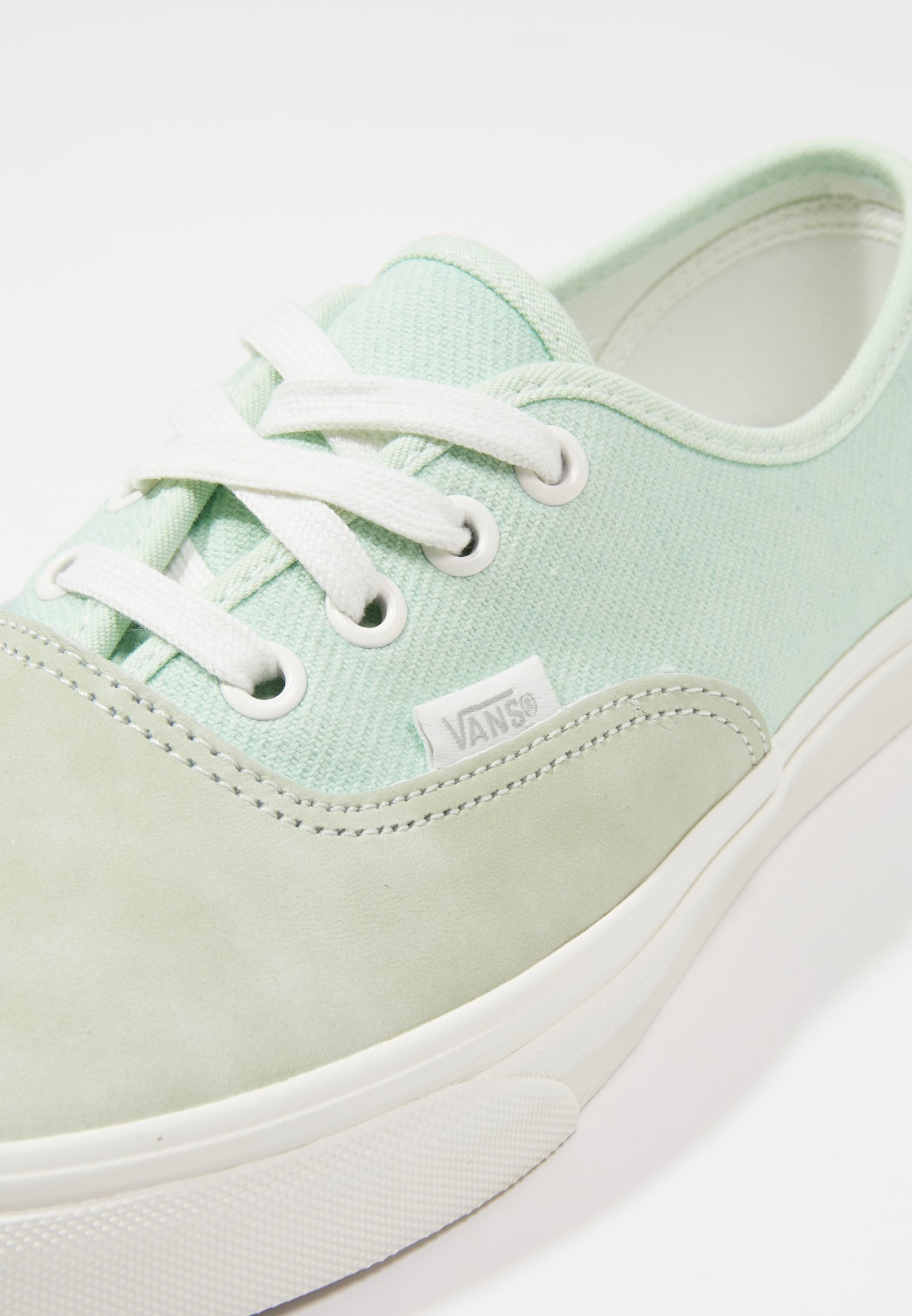 AUTHENTIC Sneakers laag pastel greenblanc