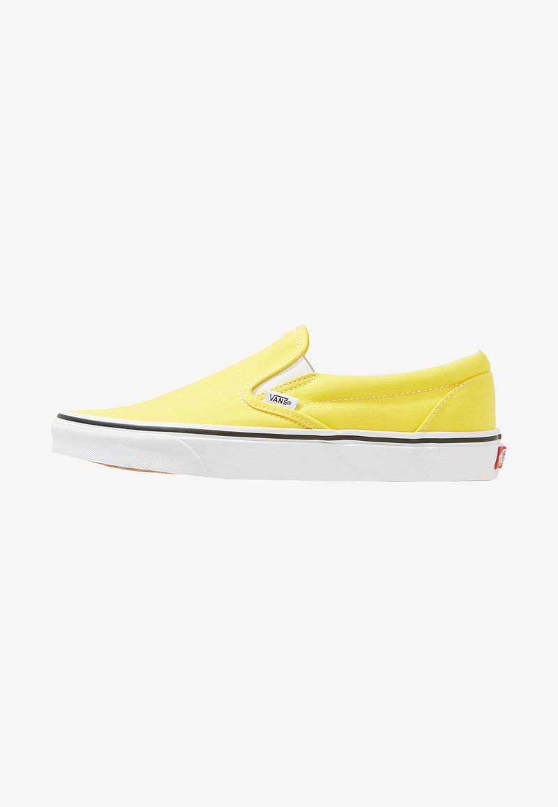 Vans - CLASSIC SLIP-ON  - Slipper - vibrant yellow/true white