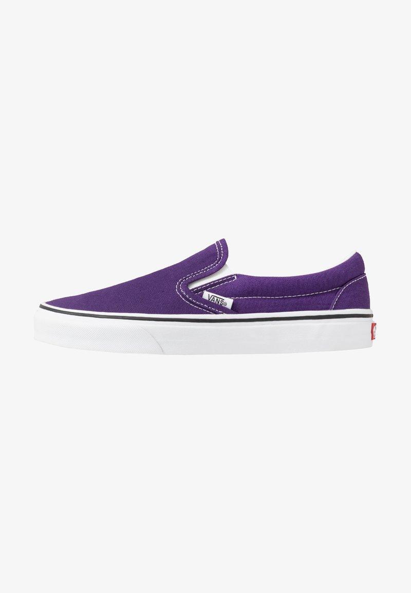 Vans - CLASSIC SLIP-ON  - Slip-ons - violet indigo/true white