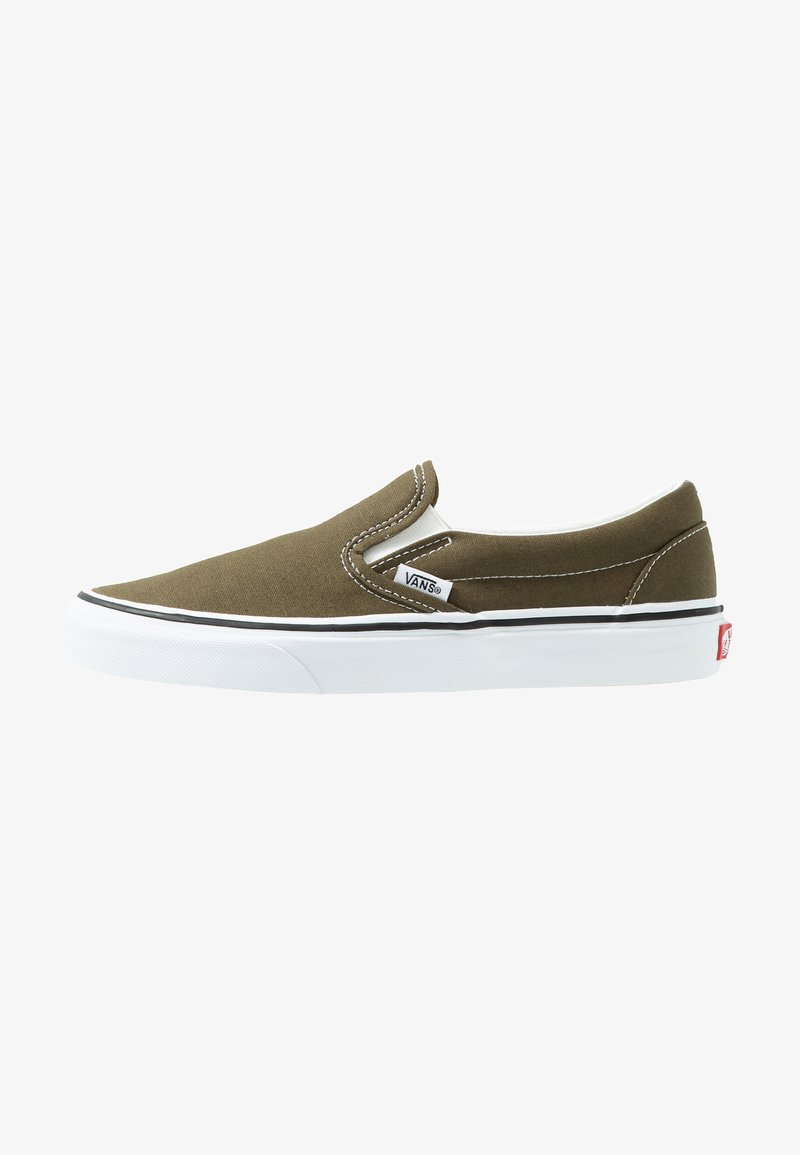 Vans - CLASSIC SLIP-ON  - Loafers - beech/true white