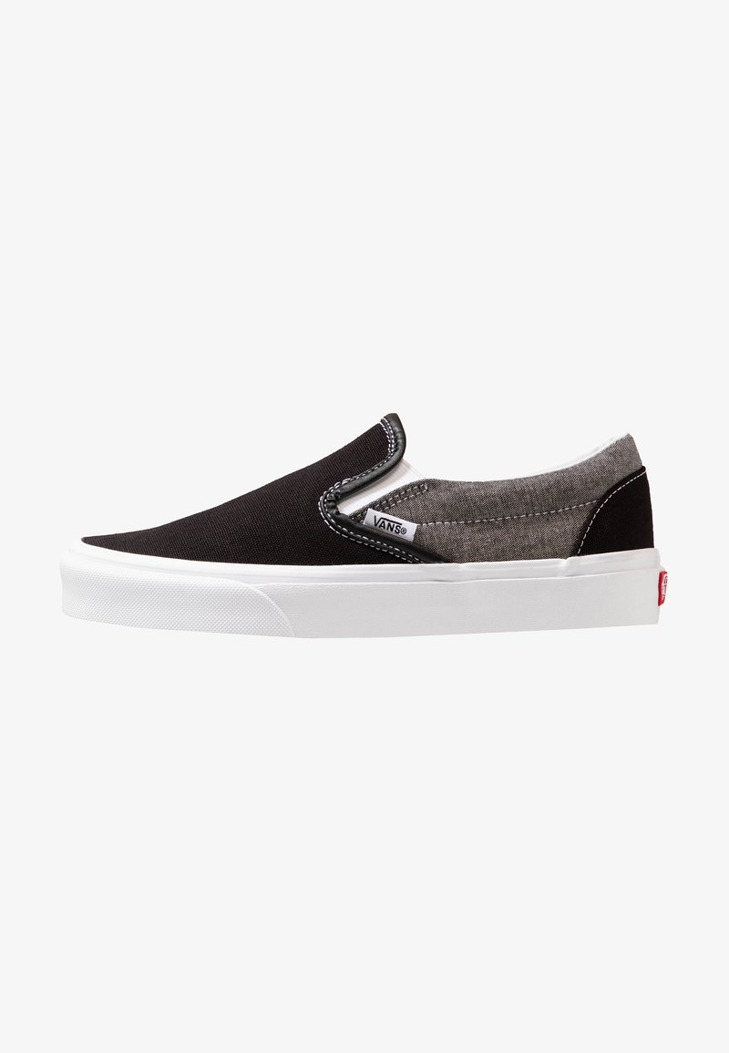 Vans - CLASSIC SLIP-ON  - Slipper - black/true white