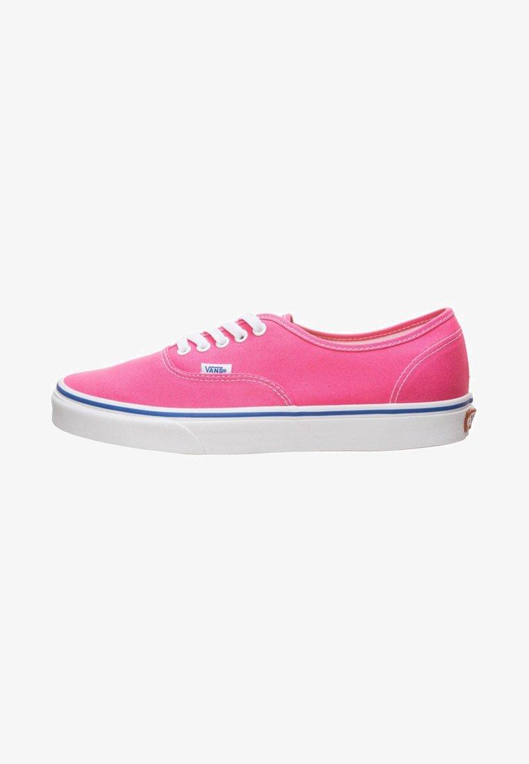 Vans - AUTHENTIC - Sneaker low - carmine rose/true white