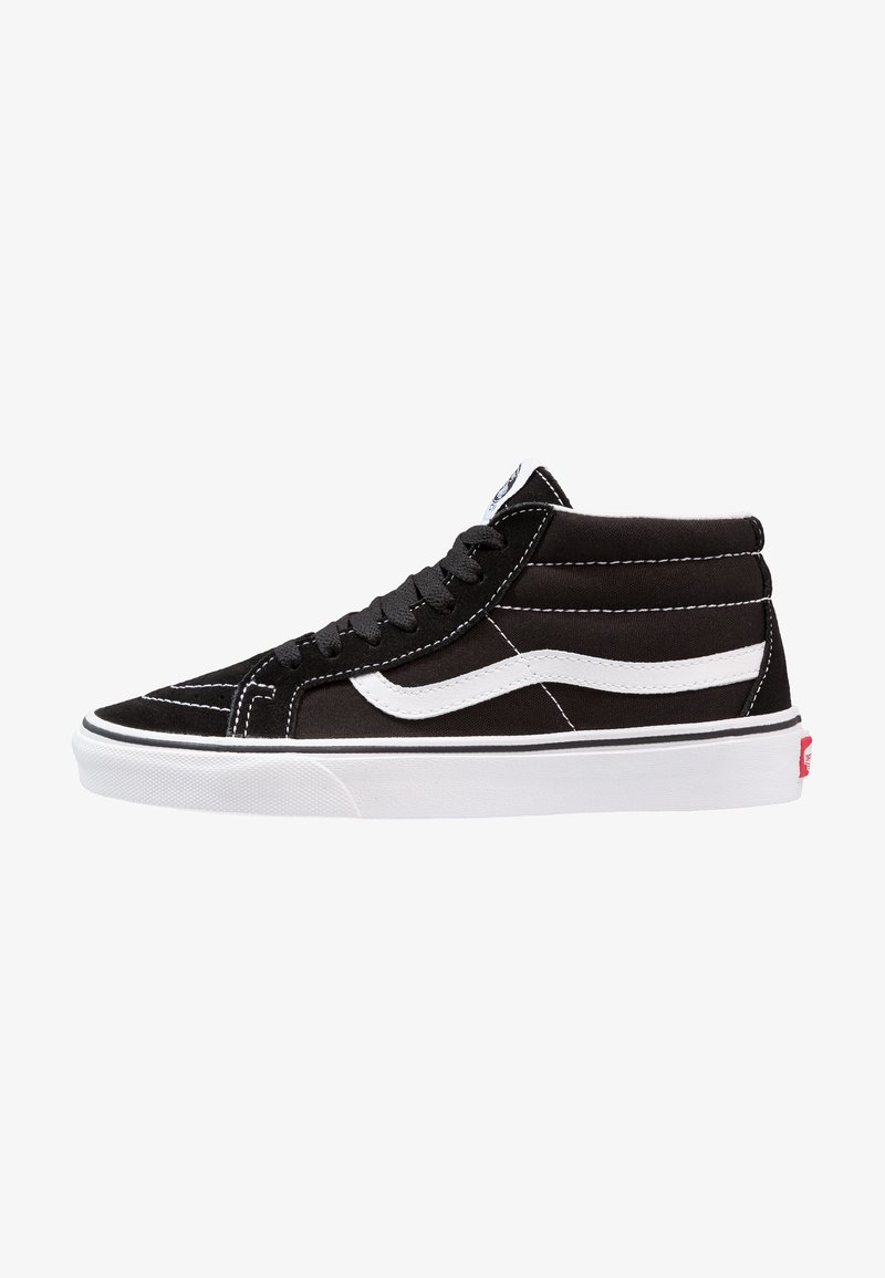 Vans - UA SK8-MID REISSUE - Korkeavartiset tennarit - black/true white