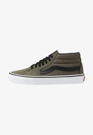 SK8 MID - Korkeavartiset tennarit - grape leaf/true white