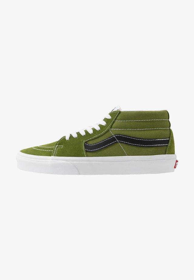 SK8 MID - Höga sneakers - calla green/true white